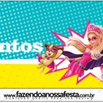 Mentos Barbie Super Princesa
