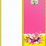 Menu Barbie Super Princesa Rosa