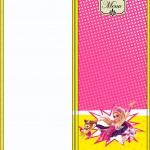 Menu Barbie Super Princesa Rosa