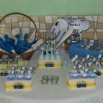 Mesa de Doces Batizado do Davi Nicolini