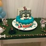 Mesa de Doces Festa Páscoa Tom e Jerry