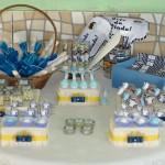 Mesa de Guloseimas Batizado do Davi Nicolini