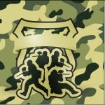 Mini Confeti Kit Militar Camuflado