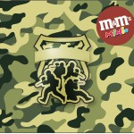 Mini M&M Kit Militar Camuflado