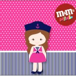 Mini M&M Menina Marinheira