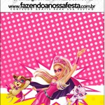 Mini Pastilha Docile Barbie Super Princesa Rosa