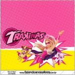 Mini Trakinas Barbie Super Princesa Rosa