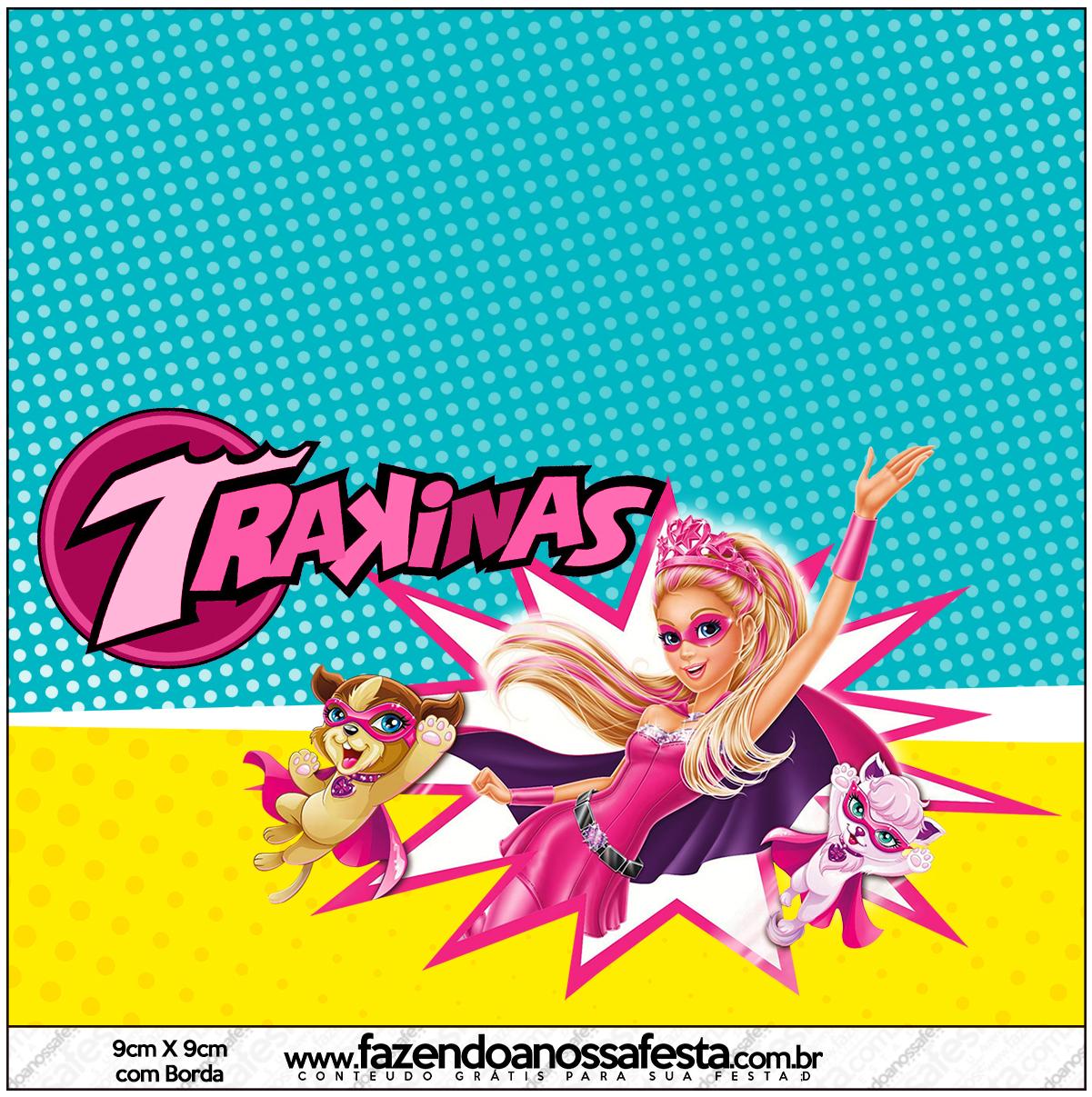 Mini Trakinas Barbie Super Princesa