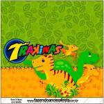 Mini Trakinas Dinossauro Cute