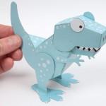 Molde Dinossauro 3D – Pronto para Imprimir