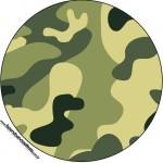 Molde Latinha ou Tubete Kit Militar Camuflado