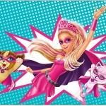 Painel Barbie Super Princesa