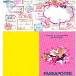 Passaporte Barbie Super Princesa Rosa