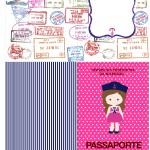 Passaporte Menina Marinheira