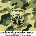 Passatempo Kit Militar Camuflado