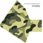 Pirâmide Kit Militar Camuflado