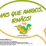 Plaquinha Divertida Dinossauro Cute 15