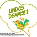 Plaquinha Divertida Dinossauro Cute 2