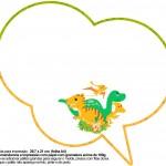 Plaquinha Divertida Dinossauro Cute 25