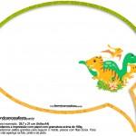 Plaquinha Divertida Dinossauro Cute 29