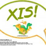 Plaquinha Divertida Dinossauro Cute 8