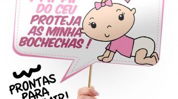 Arquivo Para Chá De Bebê Menina Fazendo A Nossa Festa