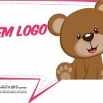 Plaquinhas para Chá de Bebê - Vem Logo
