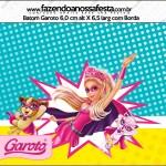 Rótulo Batom Garoto Barbie Super Princesa