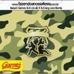 Rótulo Batom Garoto Kit Militar Camuflado