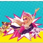 Rótulo Champagne, Vinho e Espumante Barbie Super Princesa