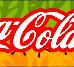 Rótulo Coca-cola Dinossauro Cute