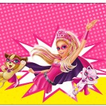 Rótulo Espumante Barbie Super Princesa Rosa