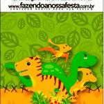Rótulo Mini Pastilha Docile Dinossauro Cute