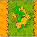 Rótulo Pé de Moleque Yoki Dinossauro Cute