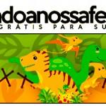 Rótulo Pote Papinha Dinossauro Cute