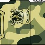 Rótulo Tic Tac Kit Militar Camuflado