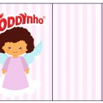 Rótulo Toddynho Batizado Anjinha Afro