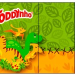 Rótulo Toddynho Dinossauro Cute