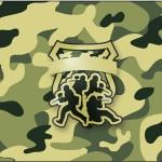 Rótulo Tubetes Kit Militar Camuflado