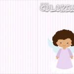 Revista Colorindo Batizado Anjinha Afro