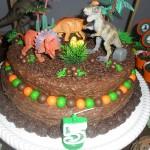 Festa Dinossauros do João Lucas - Bolo