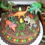 Festa Dinossauros do João Lucas - Bolo Dinossauro