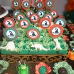 Festa Dinossauros do João Lucas - Doces e Toppers