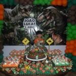 Festa Dinossauros do João Lucas - Mesa de Doces