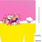 Sacolinha Surpresa Barbie Super Princesa Rosa - Parte 2