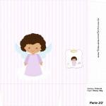 Sacolinha Surpresa Batizado Anjinha Afro - Parte 2