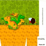 Sacolinha Surpresa Dinossauro Cute - Parte 2