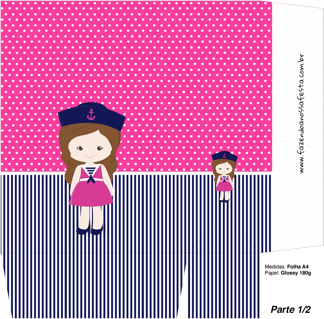 Sacolinha Surpresa Menina Marinheira - Parte 1