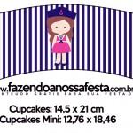 Saias Wrappers para Cupcakes 2