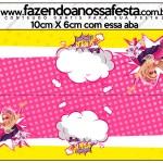 Saquinho de Balas Barbie Super Princesa Rosa